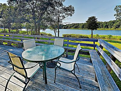 Deck - Step onto your expansive private deck to soak up the sun and feel the fresh sea breeze.