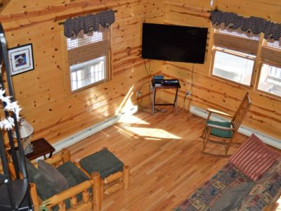 Photo for The Moose - Riverfront Cabin - Revelle's River Resort