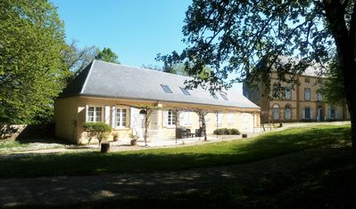 Photo for Lodging in the old castle chapel, park, swimming pool, tennis (see the video)