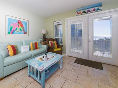 Photo for 4th Floor Charming, Coastal Condo, Steps To The Gulf, Short Drive To Dining