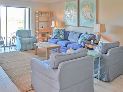 Nicely furnished 9A Inlet Point, Beautiful Marsh View and Pool access