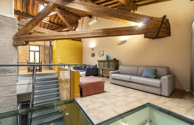 Photo for Loft Oche · fantastic loft in the heart of the historic center