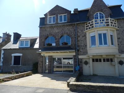 Photo for Pier cottage with superb views over a small fishing port
