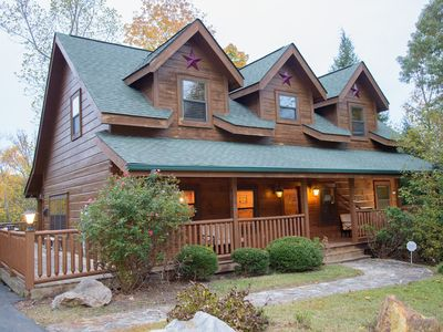 Photo for Beautiful, Luxury Cabin perfect for a Family Vacation