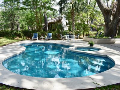 Photo for Premium 3 BR Home on Harbour Town Golf Links - Pool & Golf View - Summer Promo