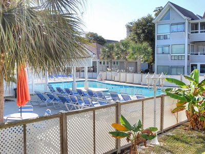 Photo for Beautiful condo within minutes of the beach in perfect family-friendly complex!