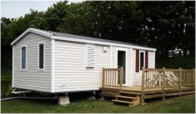 Photo for Camping de l'Orival *** - Mobile home IRM Super Mercure 3 Rooms 6 People