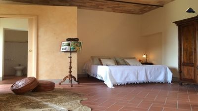Photo for Terriciolla, Tuscany beautiful apartment with stunning views