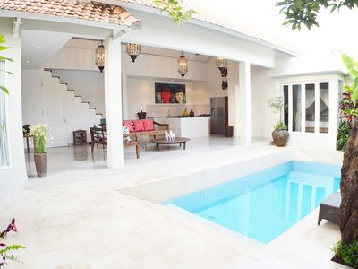 Photo for Stylish Bright Spacious 2 Bedroom Villa, Batu Belig""