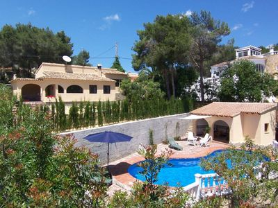 Photo for Beautiful Villa with sea-views. WiFi and foreign TV channels