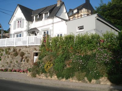 Photo for Character house with enclosed garden and breathtaking sea view Wi-Fi ChèquesVacance