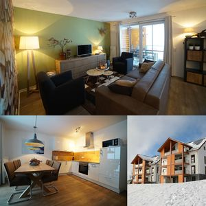 Photo for Pleasant apartment Neuastenberg-Winterberg - Directly on ski slopes - 4-6 pers