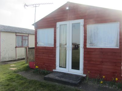 Photo for Holiday chalet , Leysdown on Sea, Isle Sheppey, 2 bedrooms, sleeps 6 pet friendl