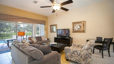 Photo for Minutes From Disney, Private Pool/Spa, Game Room, Free Resort Amenities!