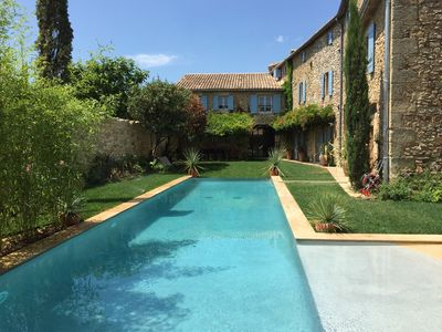 Photo for CHARMING PROVENCE VILLAGE HOUSE NEAR UZES