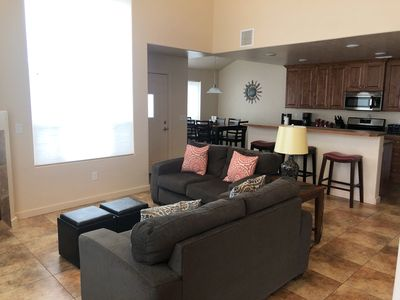 Photo for Newer Unit with Elevated Views of the La Sal Mountains and Red Rocks