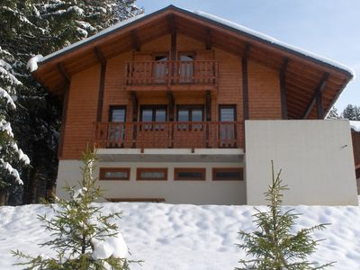 Photo for 8-10 pers. chalet just 700 meters outside Les Gets