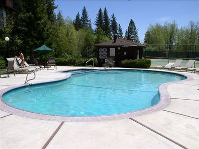 Photo for Tahoe City 4 BR/3 BA Condo - 100 steps from the Lake - St. Francis Condo's