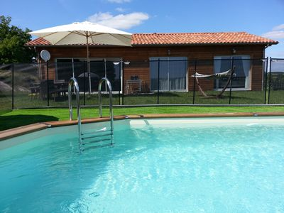 Photo for PERIGORD Spa, private heated pool, wifi, quiet, and beautiful view