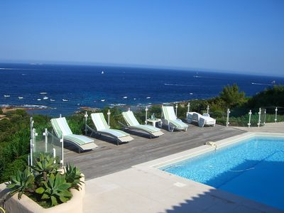Photo for Pool Villa in secure standing residence - Porto Vecchio
