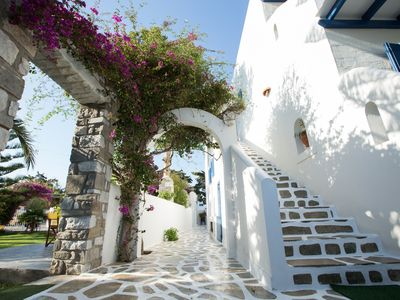 Photo for family friendly appartment . paros island is one of the most beautiful island...