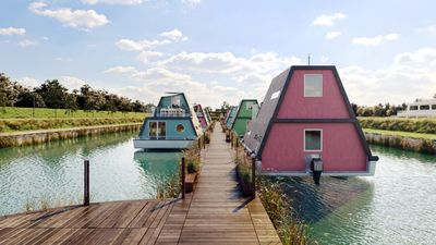 Photo for Holiday house / Houseboat in a resort
