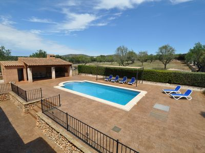 Photo for House for 6 people with BBQ, pool, terrace and free wifi