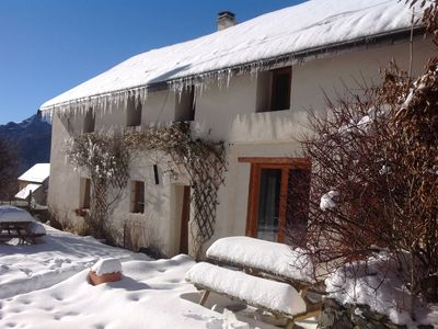 Photo for Beautifully converted old barn near Bourg D'Oisans -  19-/21 adults + 2 infants