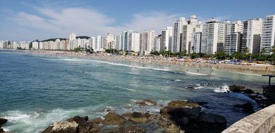 Photo for EXCELLENT FIT IN THE BEST LOCATION OF GUARUJA - PITANGUEIRAS, ON THE BEACH COURT !!!