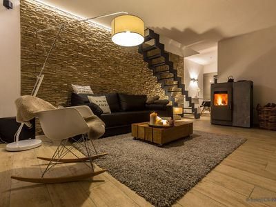 "Photo for Holiday house ""Feuerzauber"" - chic design apartment in the Thuringian Forest"