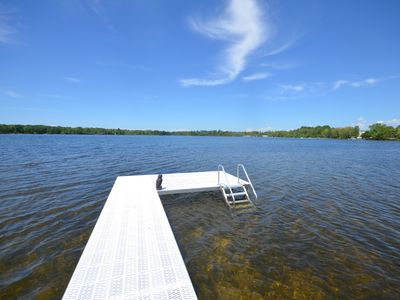 Photo for Waterfront ranch home with guest suite in Elk Rapids