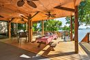 Spend beautiful afternoons on the covered deck.