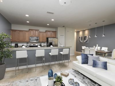 Photo for 4Bds Comfy house at Paradise Palms - 8841