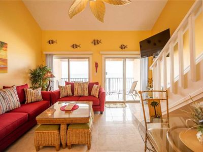 43- Best views of the BEACH from the balcony of this beautiful condo! Coral Reef Club