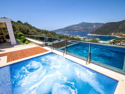Photo for Unlock your perfect villa holiday with the Villa Luks Kalkan, a brand new, luxury designer villa jus