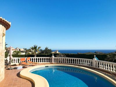 Photo for Vacation home Kalmias (MRA296) in Moraira - 6 persons, 2 bedrooms