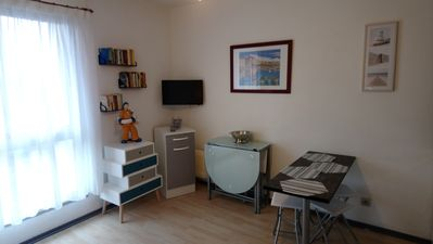 Photo for VAUX-SUR-MER, Studio with secure PARKING, 80 m from the beach