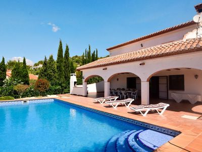 Photo for Vacation home Cocons (MRA181) in Moraira - 10 persons, 5 bedrooms