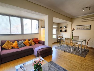 Photo for Historic City/Carmen-790m/Wi-Fi/Metro-tram; beach/airport-390m/St FREE parking.