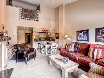 Photo for Cozy 3Br Condo Steps from Avon Gondola w/Snowcapped Views