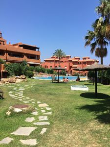 Photo for Residence tropical garden Estepona