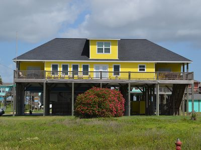 Photo for 'Relax at Crystal Beach' - Beautiful 4 bedroom spacious Home - Great Beach View