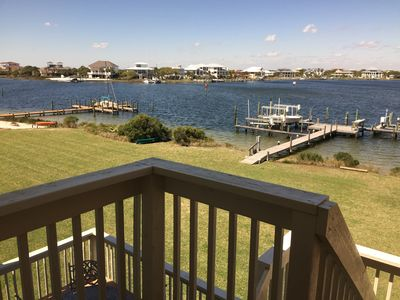 Photo for Treehouse Townhouse on Little Sabine Bay. Perfect location!