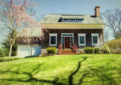 Private location just steps to a private beach (Southold Bay)
