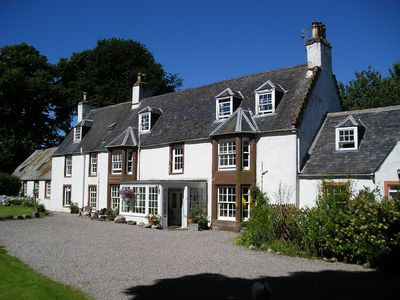 Photo for 2 bed barn cottage attached to former 1730s manse nr Dingwall/Strathpeffer