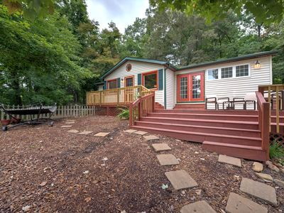 Photo for Serenity Now! Come enjoy the country-chic life in this modern and worldly rental north of Ashevil...