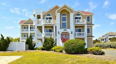 Photo for Coastal Castle: 6 Masters, Private Pool, Elevator, Dog-friendly