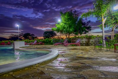 The gorgeous community pool