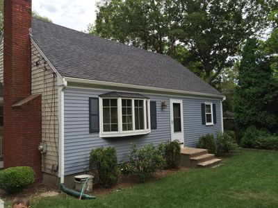 Spacious home with large back yard and new large deck