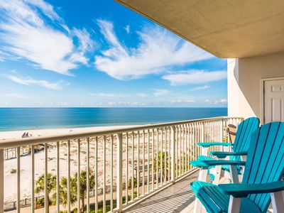 Photo for Bama Breeze, Beachfront Condo at Luxury Resort, Quick online booking for activities!